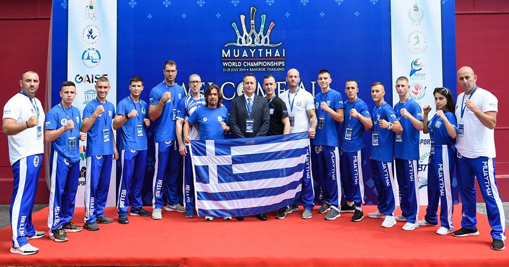 Επιστροφή της Εθνικής Ομάδας Μουάιτάι από το Παγκόσμιο Πρωτάθλημα
