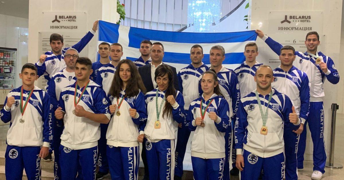 Επιστροφή της Εθνικής Ομάδας από τη Λευκορωσία