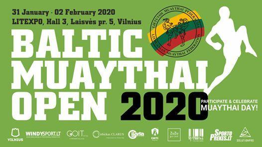 Ανοιχτό Κύπελλο Μουάιτάι Λιθουανία (Baltic Muaythai Open 2020)